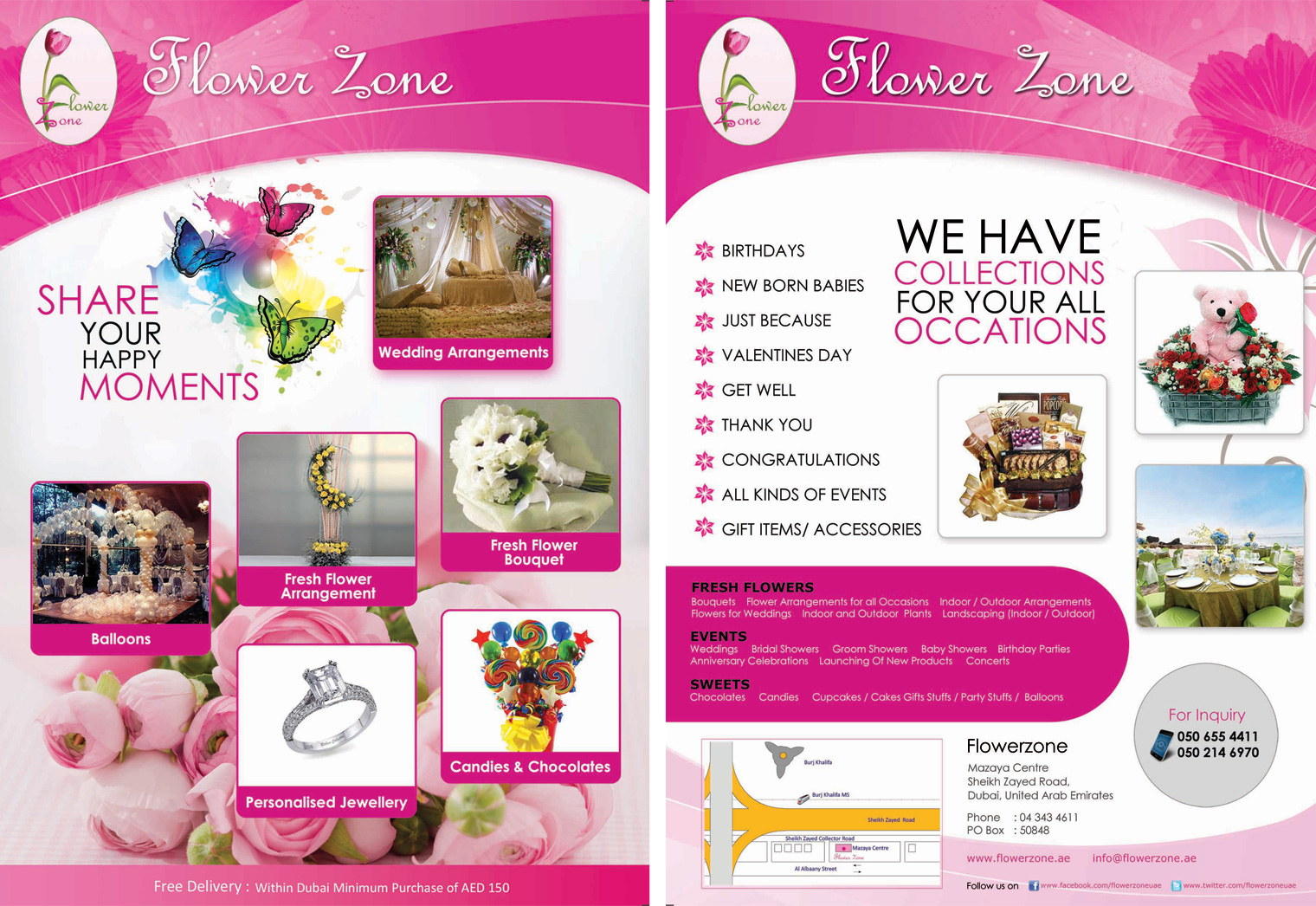 Flower Zone Dubai Flower Delivery Dubai Greensmedia Com