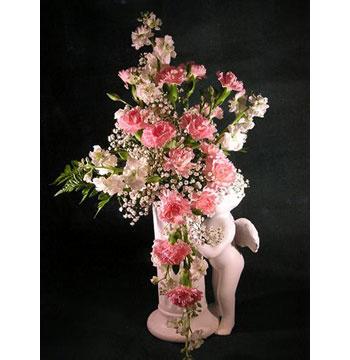 Birthday Gift Angel Flower Zone Dubai